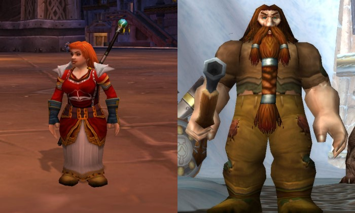 female world of warcraft characters. with World of Warcraft.