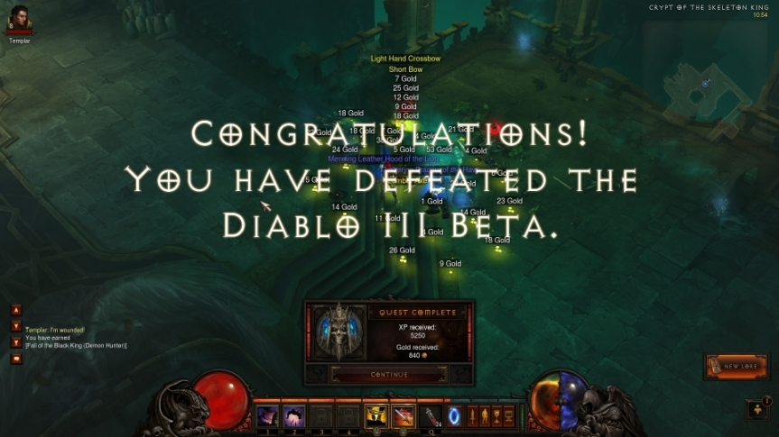 Diablo 3 beta – or: Why I preordered Torchlight 2 instead