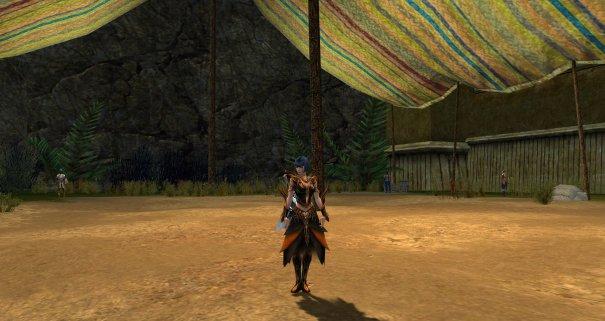 Necromancer Vabbi armor dyed orange