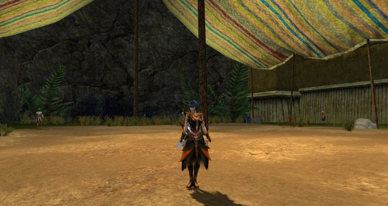 Necromancer Vabbi armor dyed orange