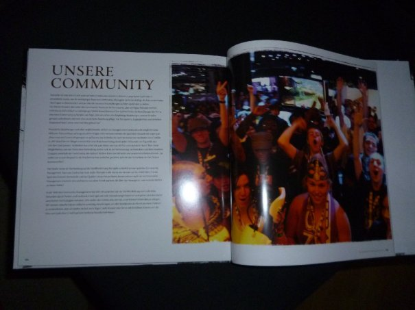 "The last page of the ""Making of..."" book is all about us, the community! Typical for ArenaNet, I think, that they also dedicate some space for us. :)"