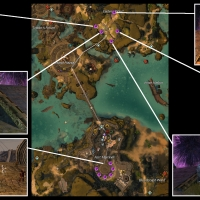 How to switch between the starter areas in Guild Wars 2