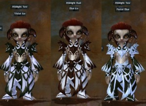 GW2 alternatives to black and white dyes