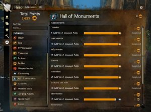 GW2 Hall of Monuments Titles