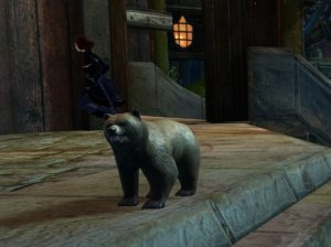 Guild Wars 2 Mini Brown Bear