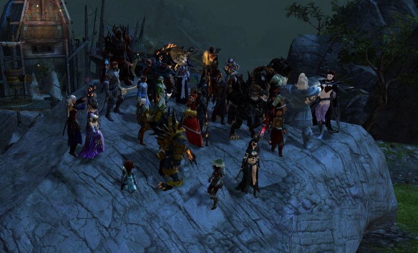 GW2_Guild Mission Group Picture