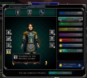 lotro_cosmetic outfit slots