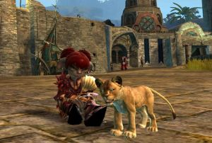 Guild Wars 2 Mini Lion Cub