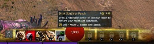 Souhsun Punch Skill