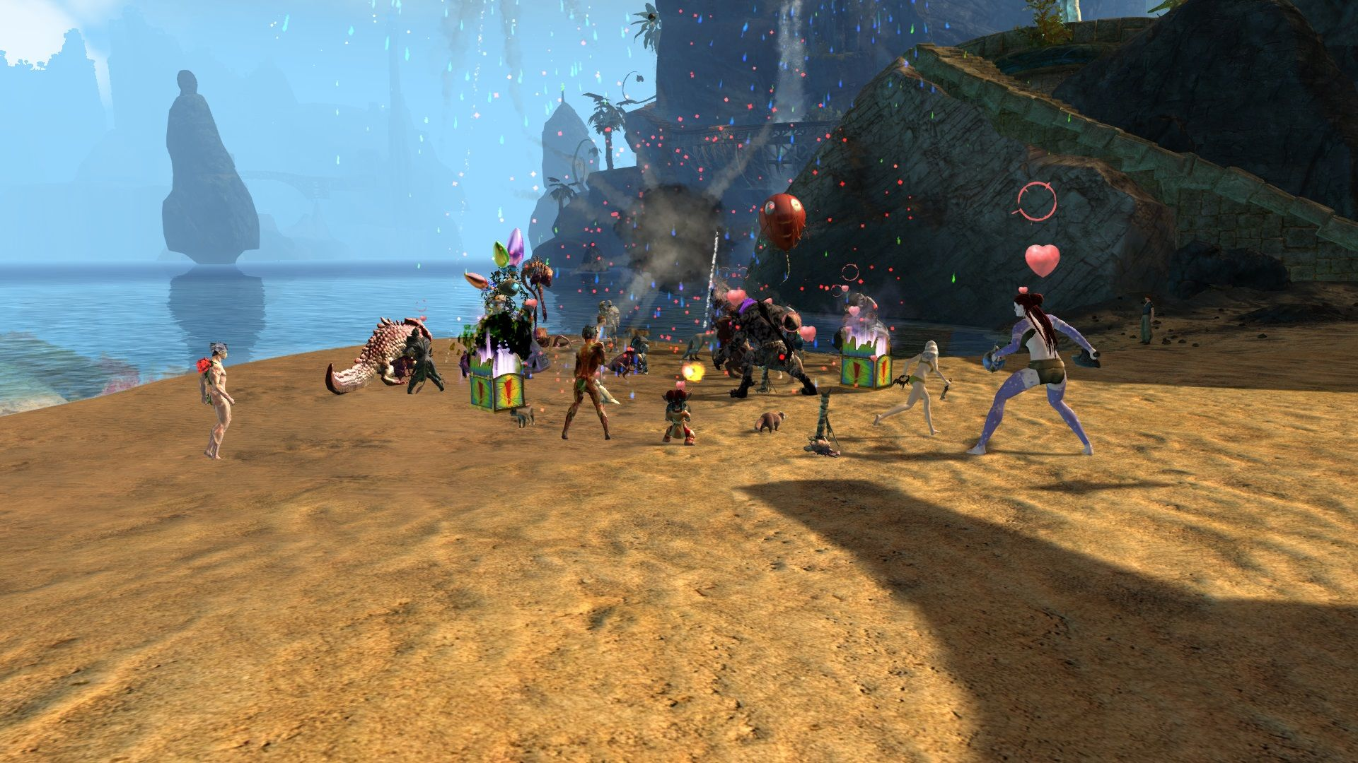GW2 DS Beach Party