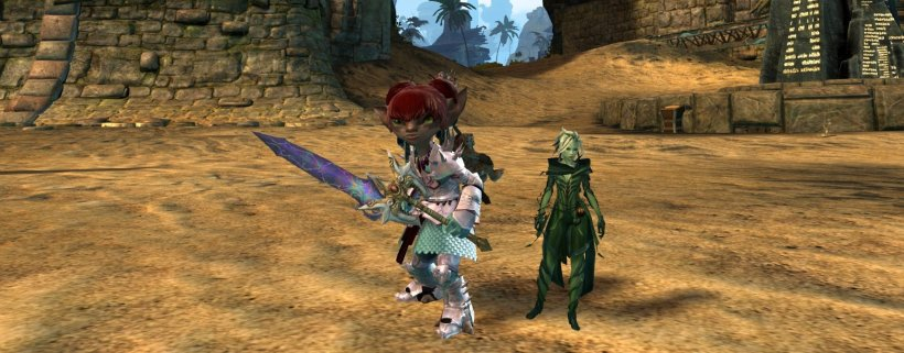 GW2 Ascended Wupwup blade