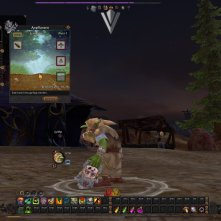Cultivating, a crafting profession. And a dwarven head