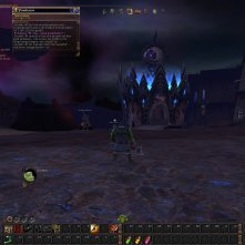 My blackorc in the Inevitable City. This was shortly after launch.