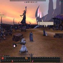 Darkelf blackguard in their starter area