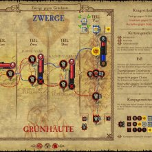 The map for the campaign overview.