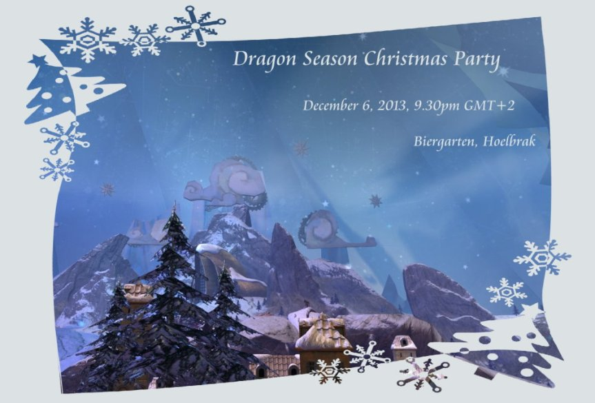 DS Christmas Party invitation