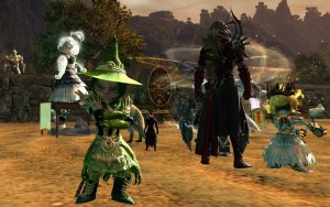 GW2 witch outfit in algae