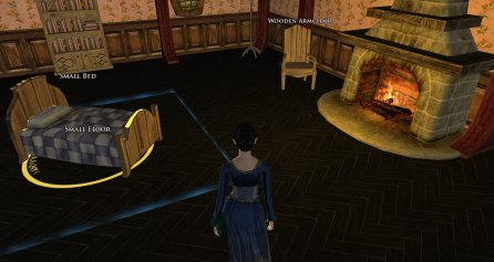 lotro bed and armchair