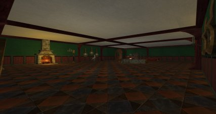 lotro hobbit deluxe house main room 1