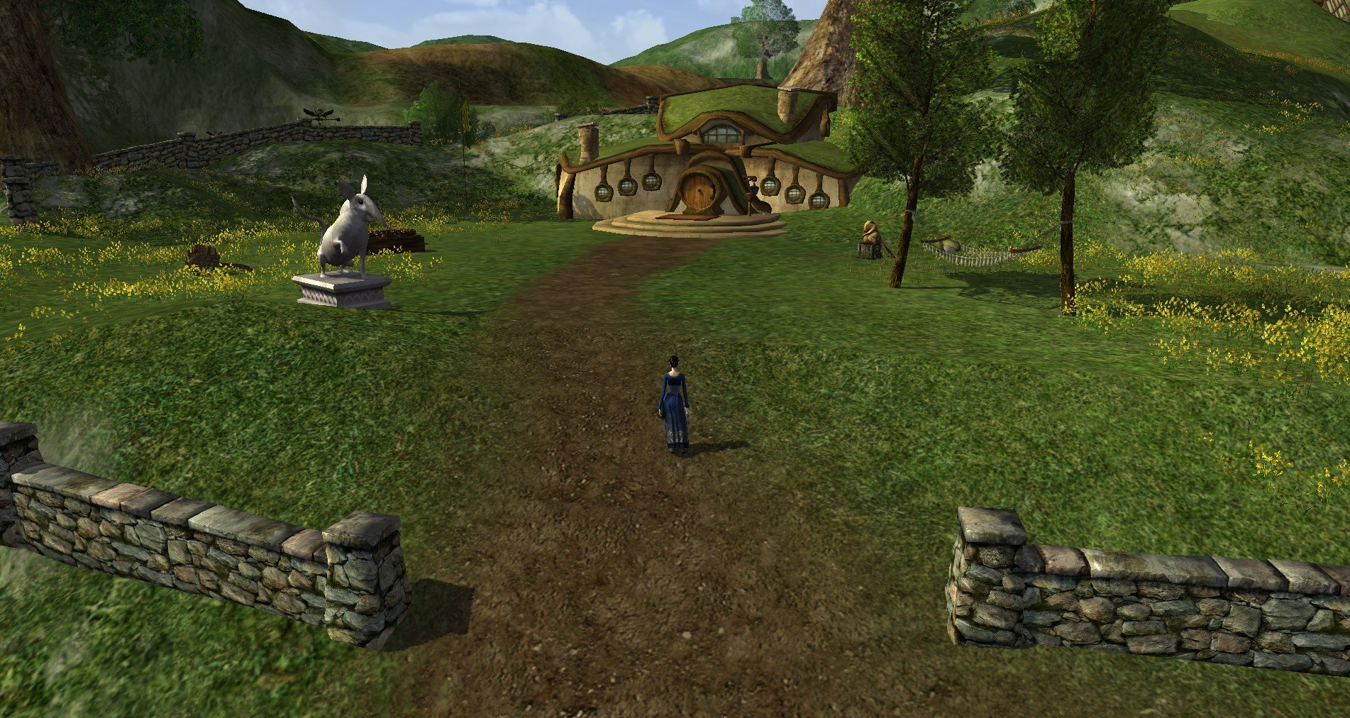 Housing in mmos lord of the rings online nerdy bookahs for Online house
