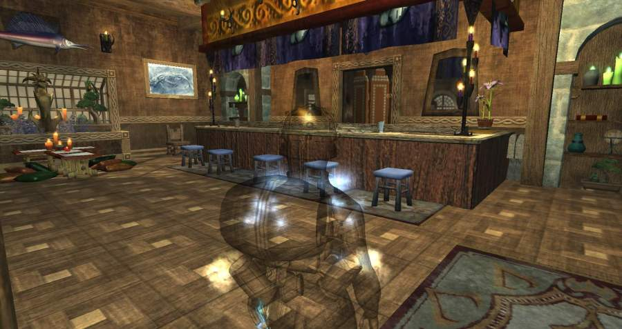 A Monk's Sushi Bar and Home by Aileas