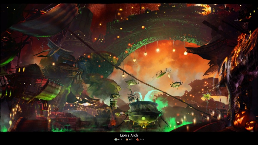 GW2 Loading Screen LA Halloween 2012