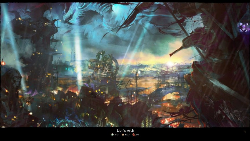 GW2 Dragon Bash 2013 Login Screen