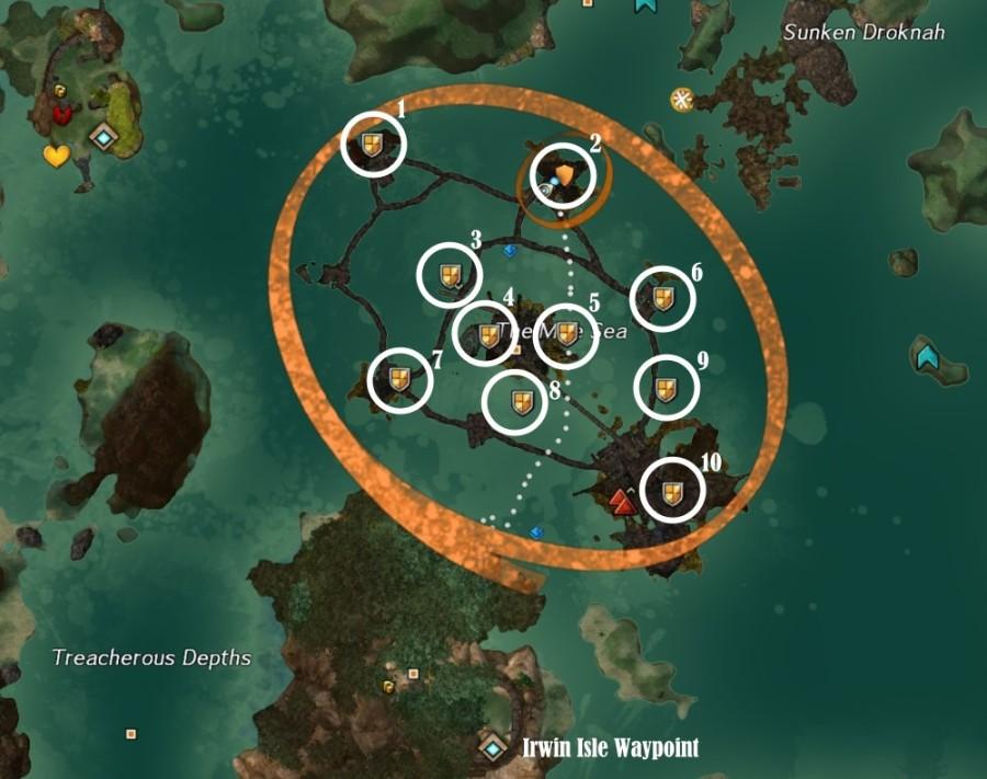GW2 Deep Trouble Guild Challenge