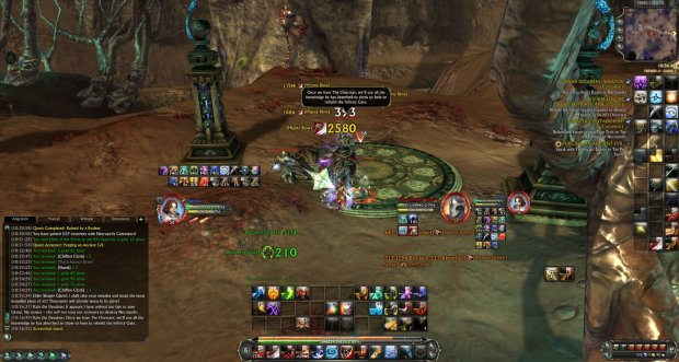 Rift_Warrior fighting