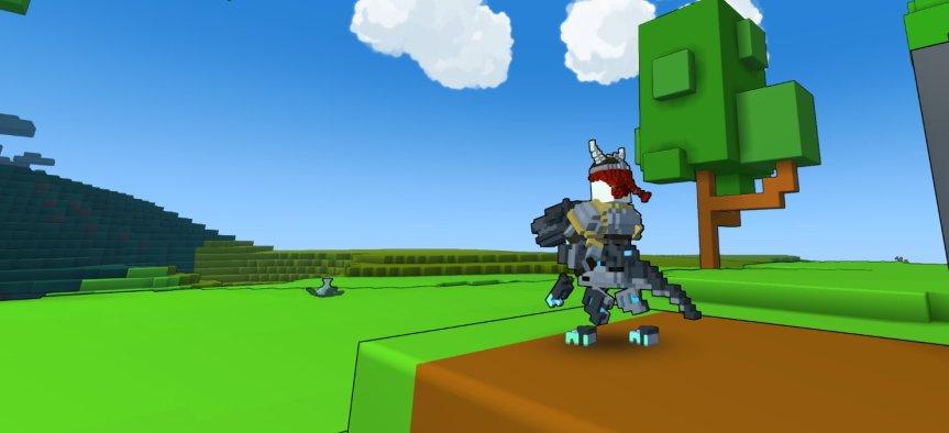 Trove Robo Raptormount