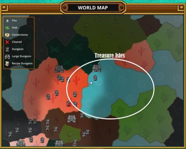 Trove Map Treasure Isles Wheel