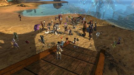 GW2_Guild Beach Party 2013