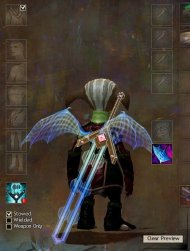 Holographic Dragon Wing Cover and the SAB greatsword skin