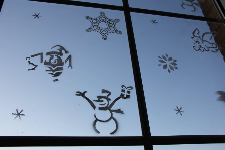Winners of the Wintersday Window Decoration Contest