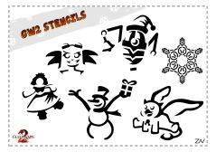 Zav's stencil designs