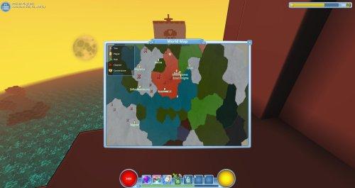 Trove Pirate ship map
