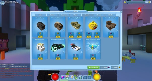 Trove_Mounts in the store