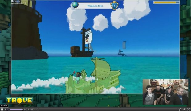 Trove Ghost Ship