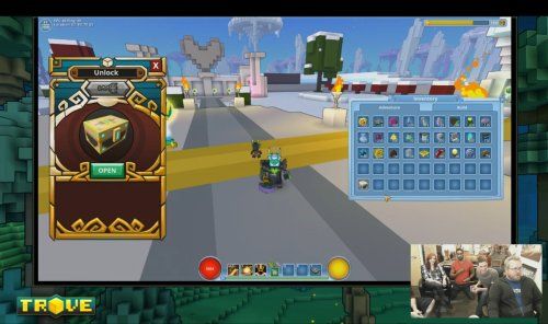 Trove_New UI Radiant Chest