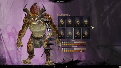 GW2_Charr character creation