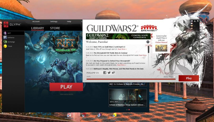 Guild Wars 2 vs  Rift vs  Trove: Part 1 (Basic information