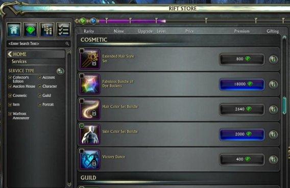 Rift_Store unlocks