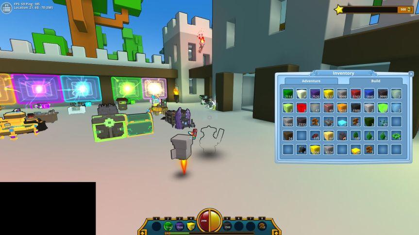 New UI: Crafting bar