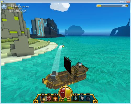 Trove Teaser: Ship Cannons and new UI