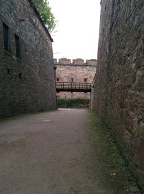 Inside the fortress