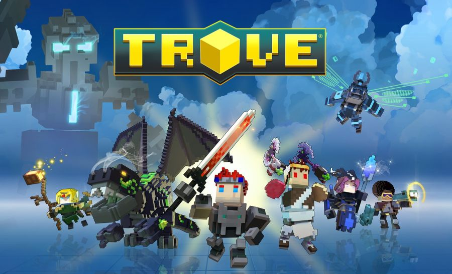 Trove Login Screen
