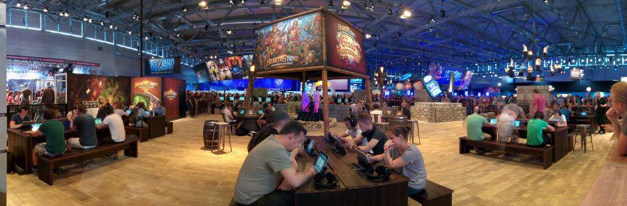 Gamescom 2015 Hearthstone area
