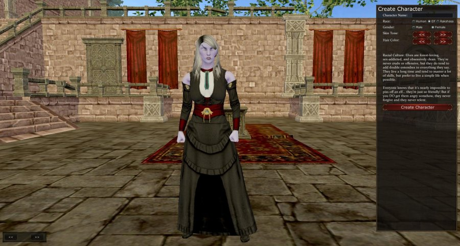 Project Gorgon Character Creation