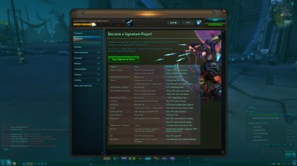 Wildstar F2P beta cash shop