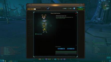 Wildstar F2P beta cash shop